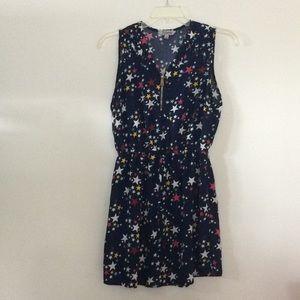 Star pattern dress